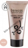 benecos NATURAL CREAMY MAKE-UP Foundation - Fond de ten NUDE