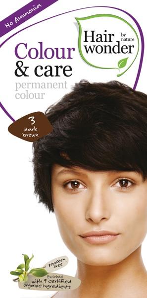 HENNAPLUS Colour & Care Dark Brown 3