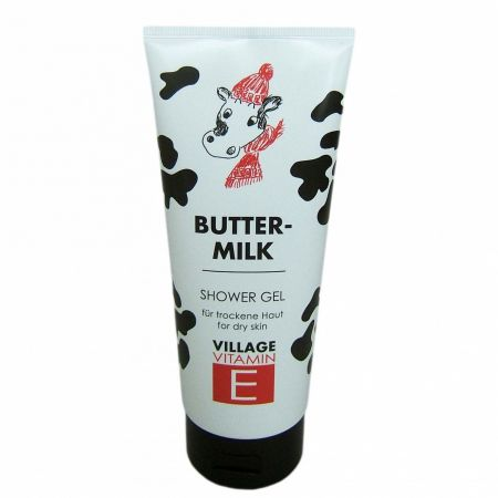 Village Gel De Dus Cu Buttermilk Si Vitamina E