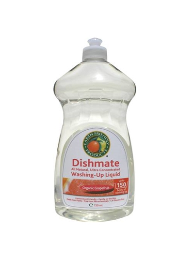 EARTH FRIENDLY PRODUCTS Solutie pt. vase/biberoane - grapefruit, 750ml