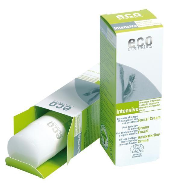 Eco Cosmetics Lotiune Antirid Bio Cu Ulei De Argan Si Catina