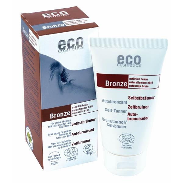 Eco Cosmetics Fluid Autobronzant Bio Pentru Fata Si Corp