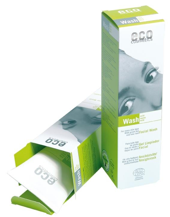 Eco Cosmetics Gel De Curatare Bio Cu Ceai Verde Si Echinacea