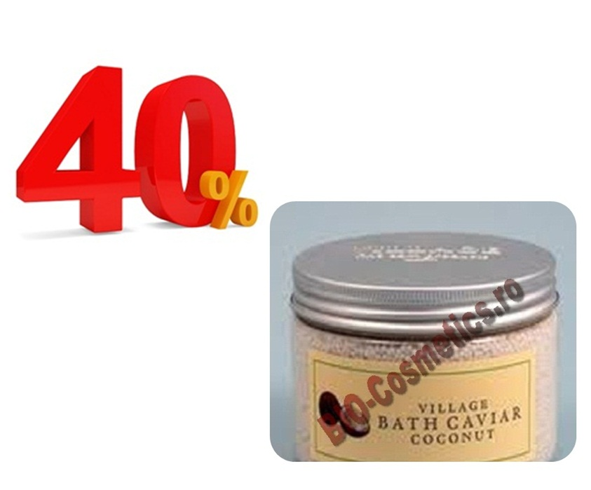Promo Village Sare De Baie (bath Caviar) Cu Cocos