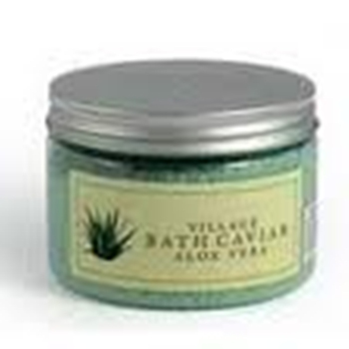 VILLAGE Sare de baie (Bath caviar) cu Aloe Vera