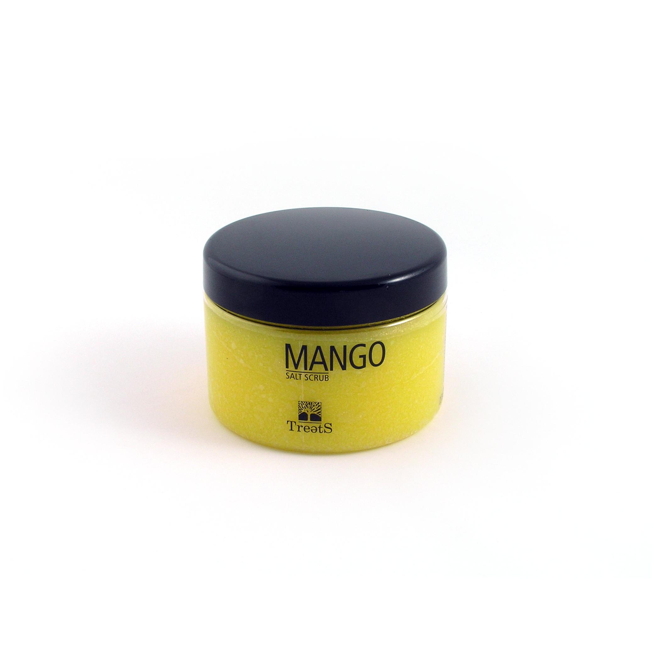 Treets Sare Exfolianta Pentru Corp Cu Mango