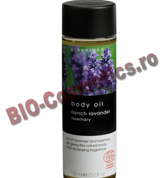 GREENLAND Ulei de corp French Lavender - Rosemary