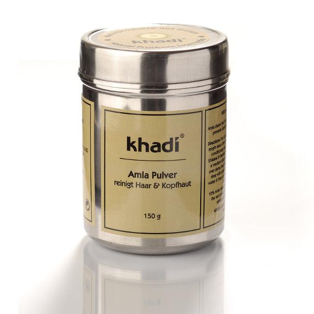 Khadi Pudra De Amla - Tratament Pentru Par Si Ten