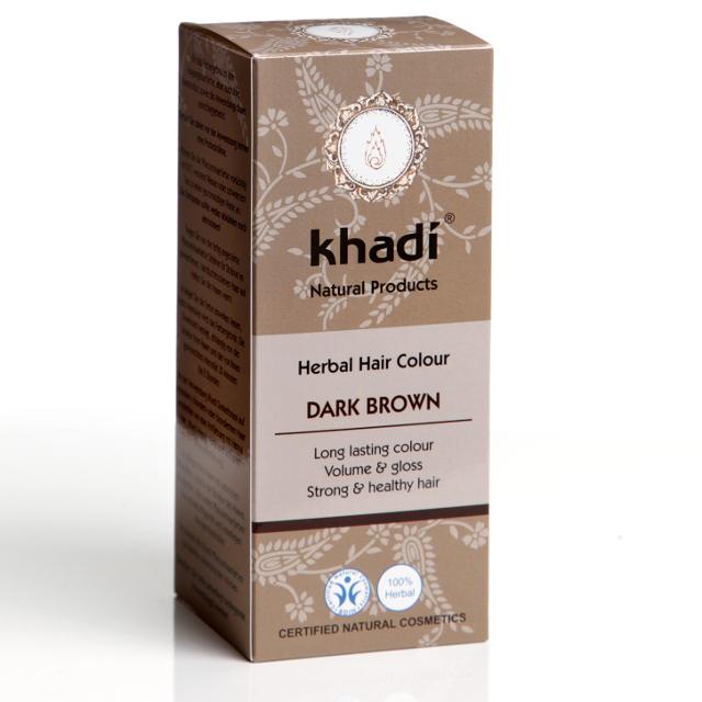 Khadi Vopsea De Par Naturala Saten Inchis