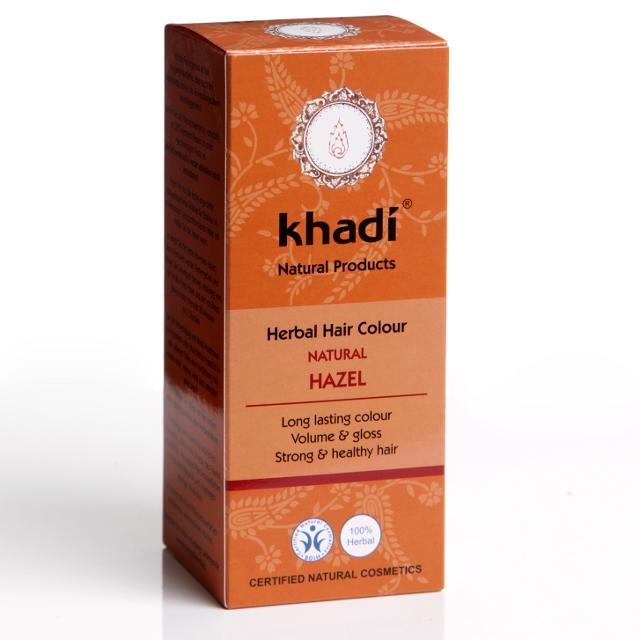 KHADI Vopsea de par naturala Saten Nuca