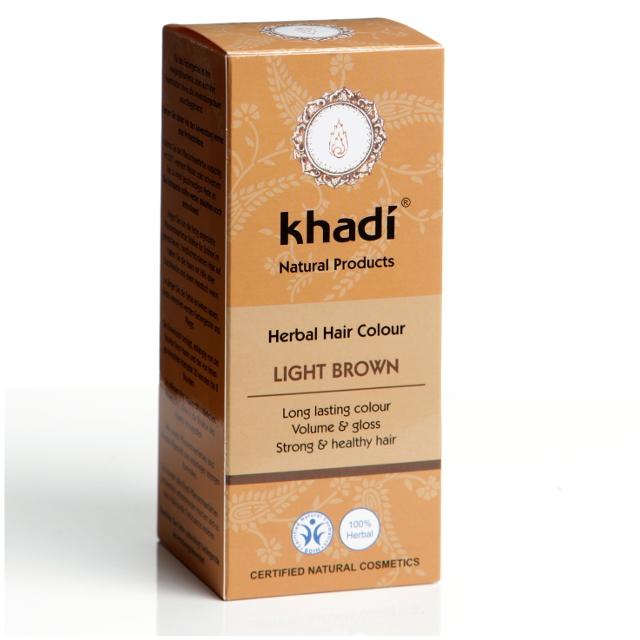 Khadi Vopsea De Par Naturala Saten Deschis