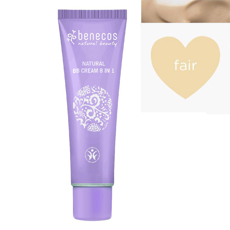 Benecos Bb Cream Natural 8 In 1 Fair