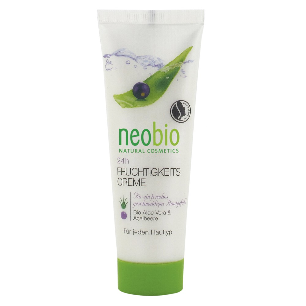 Neobio Crema Bio Hidratanta 24 H Cu Aloe Vera Si A