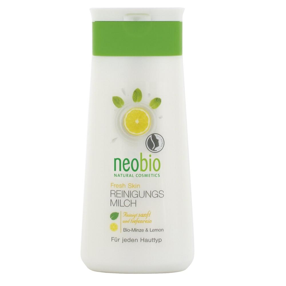 Neobio Lapte Purifiant Bio Fresh Skin Cu Menta Si Lamaie