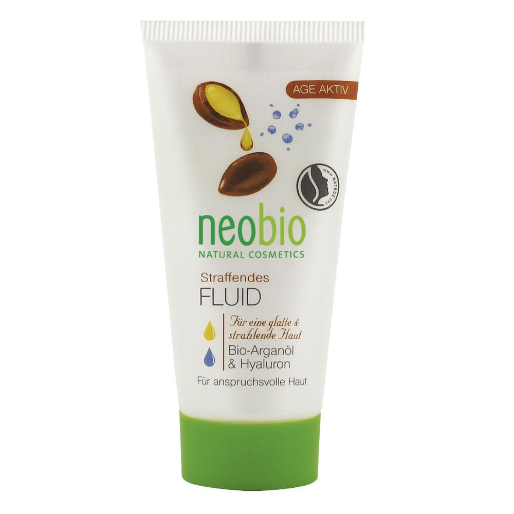 Neobio Fluid Bio Anti Age Cu Ulei De Argan Si Acid Hialuronic