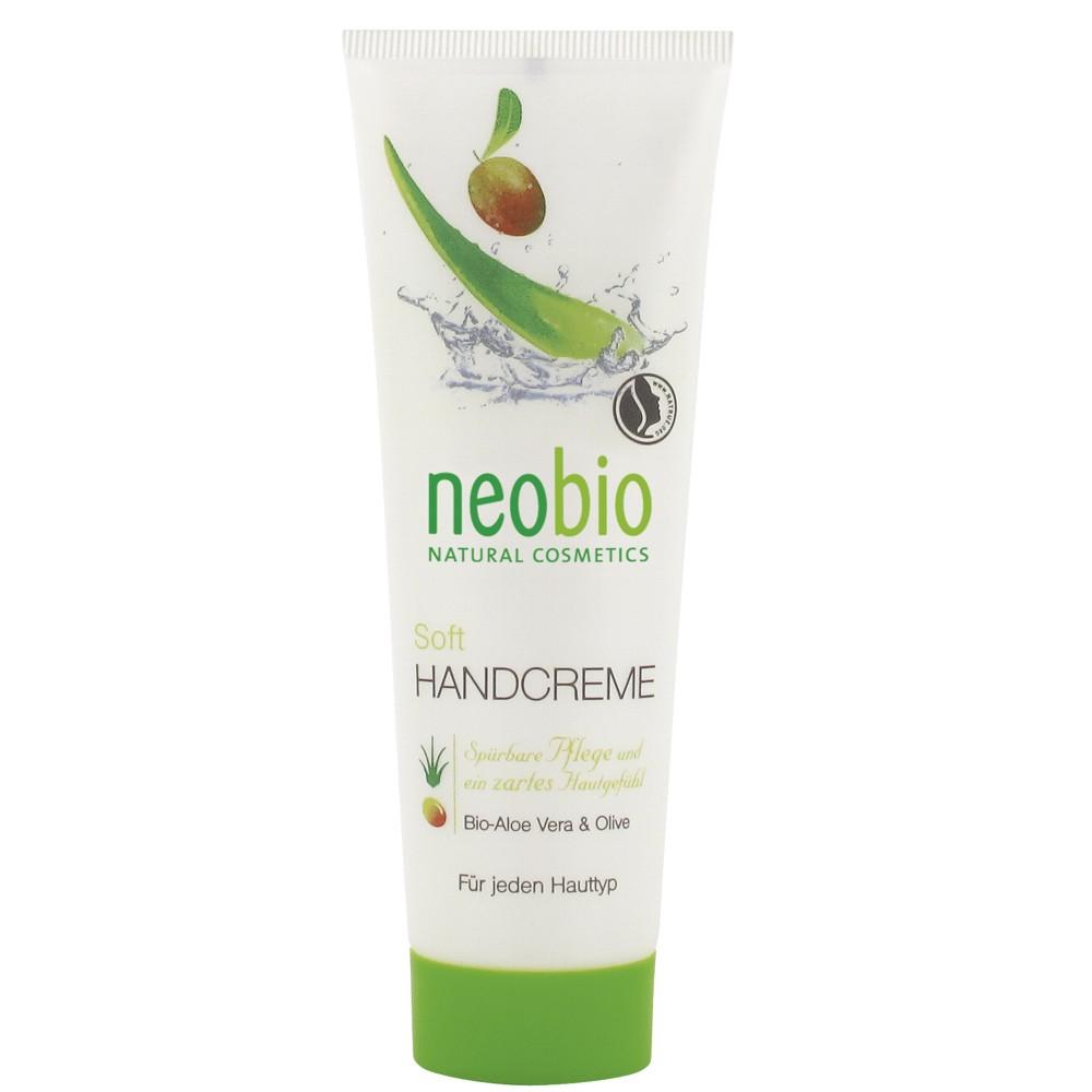 Neobio Crema De Maini Bio Soft Cu Aloe Vera Si Masline
