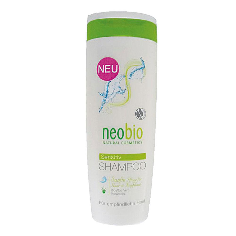 Neobio Sampon Bio Pentru Par Sensibil Cu Aloe Vera Fara Parfum