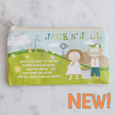 Jack n' Jill - Borseta impermeabila pentru periuta si pasta de dinti