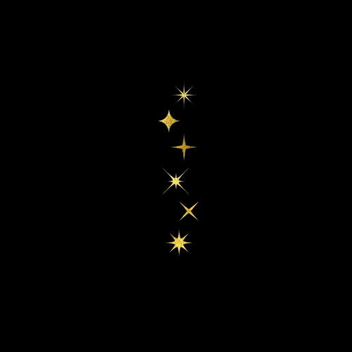 Goldsin Tattoos - Shining Night Stars Aur 24k
