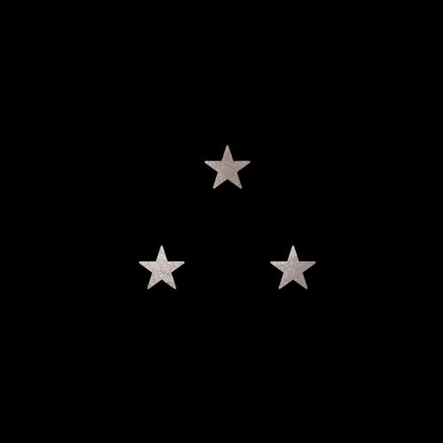 Goldsin Tattoos - 3 Stars Argint