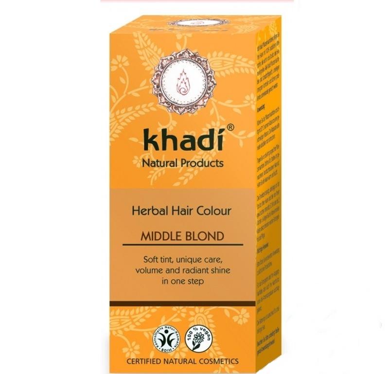 Khadi Vopsea De Par Naturala Blond Mediu