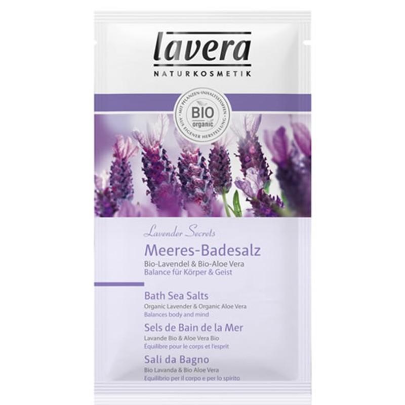 LAVERA Sare de baie Lavender Secrets – lavanda si aloe vera