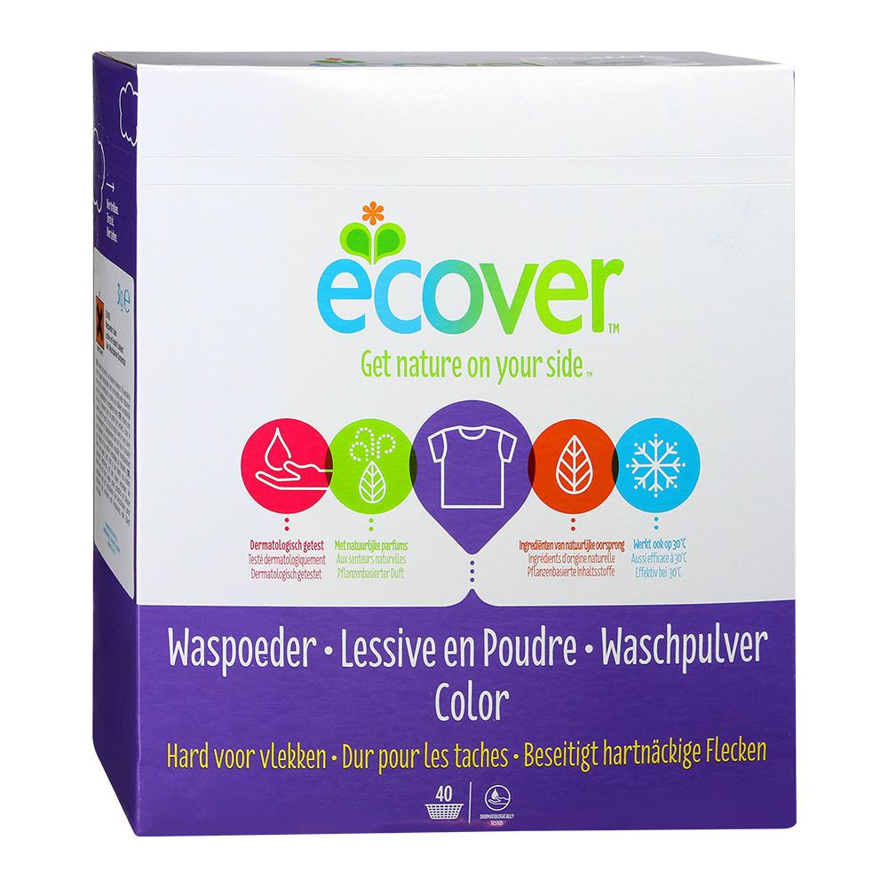 Ecover Detergent Concentrat Pentru Rufe Colorate 3 Kg