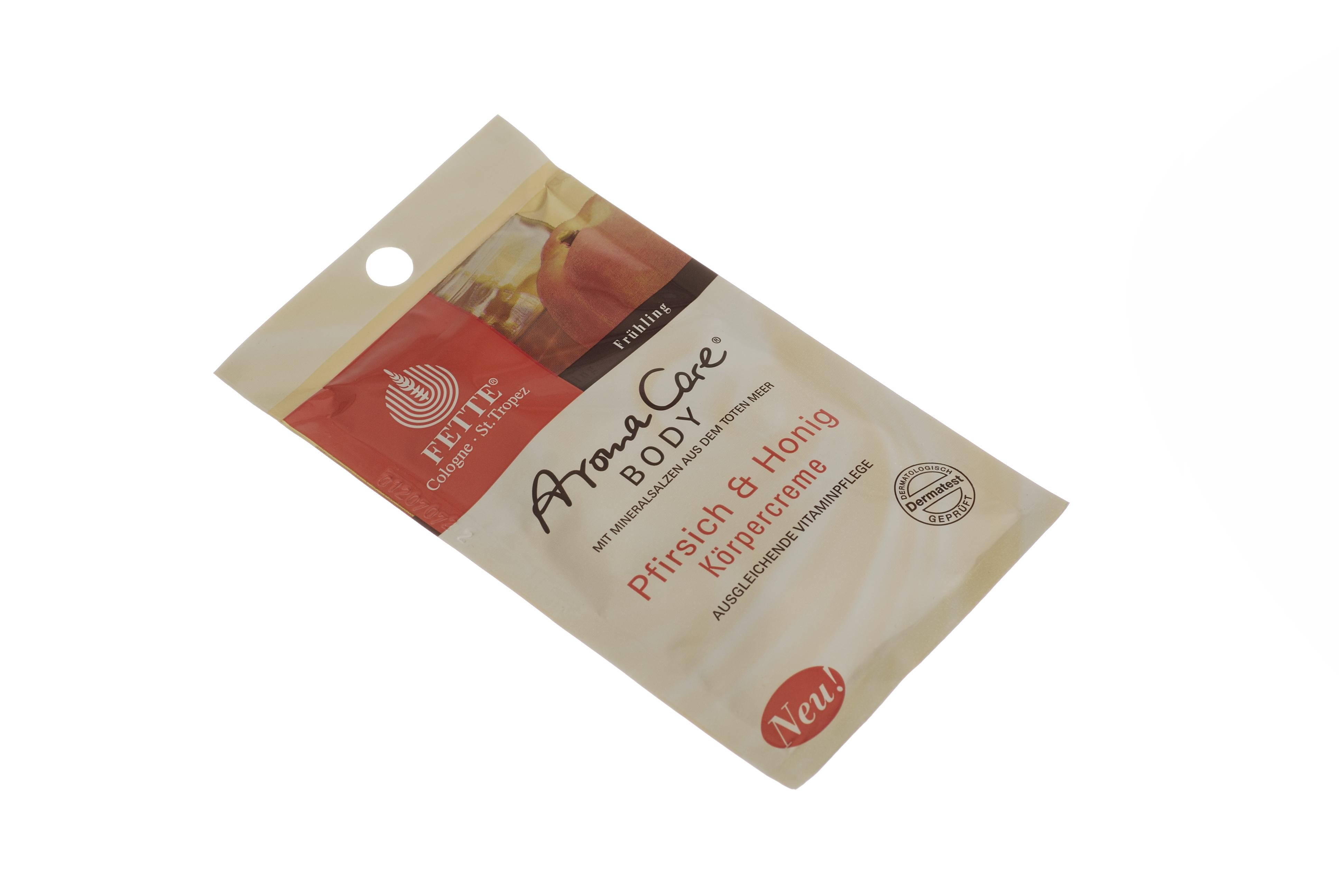 DERMASEL Crema de corp cu piersici si miere, 30 ml