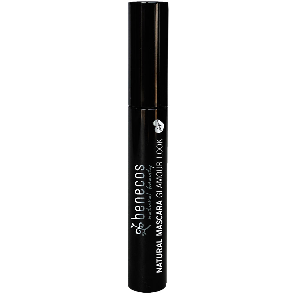 benecos Rimel Glamour Look - ultimate black - NATURAL MASCARA