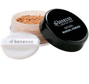 benecos NATURAL MINERAL POWDER - pudra MEDIUM BEIGE