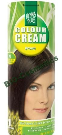Hennaplus Colour Cream Brown 4