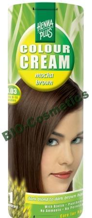 Hennaplus Colour Cream Mocha Brown 4.03