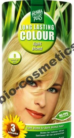 Hennaplus Llc Colour Light Blond 8