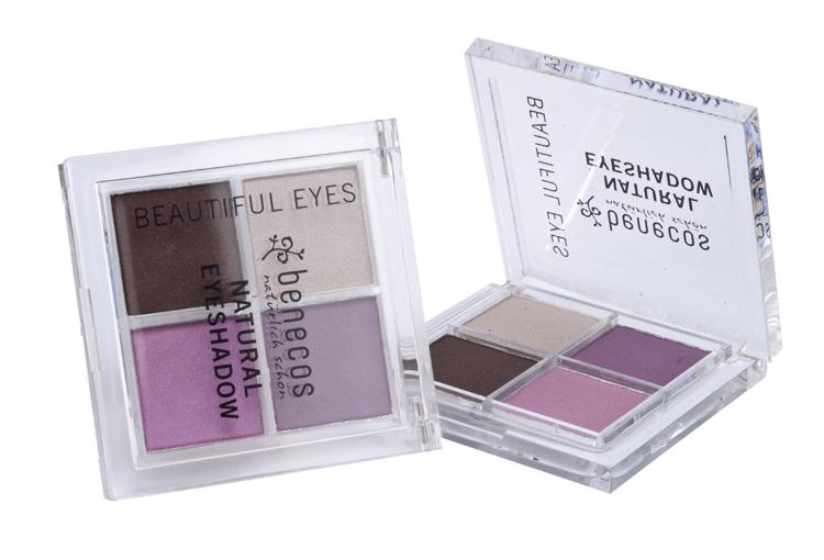 Benecos Fard Pleoape Natural Quattro Beautiful Eyes