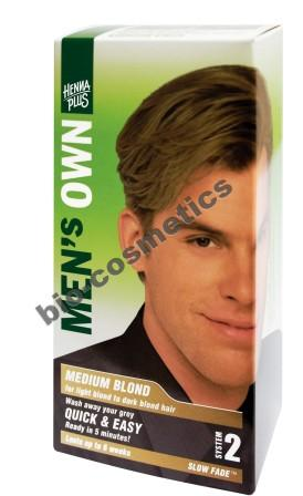 HENNAPLUS Mens Own Medium Blond