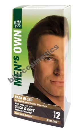 HENNAPLUS Mens Own Dark Blond