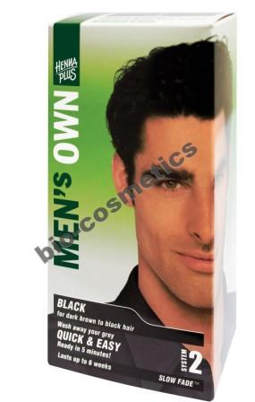HENNAPLUS Mens Own Black