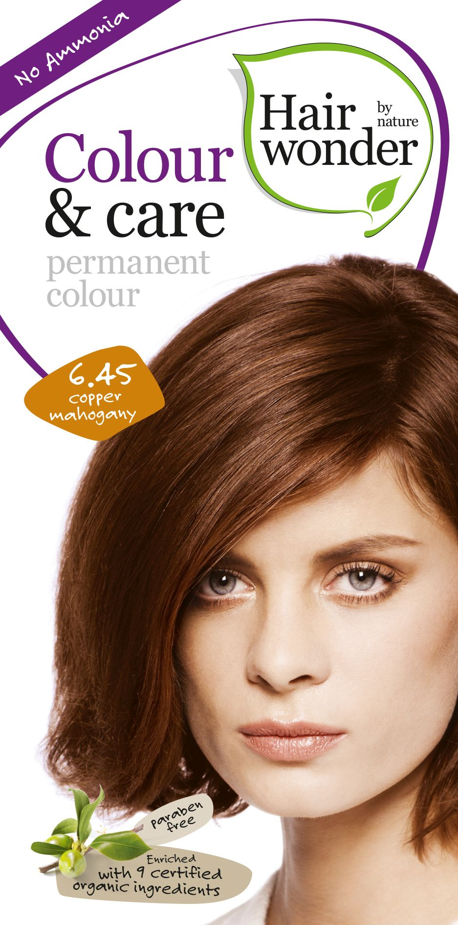 Hairwonder Colour & Care Cooper Mahogany 6.45
