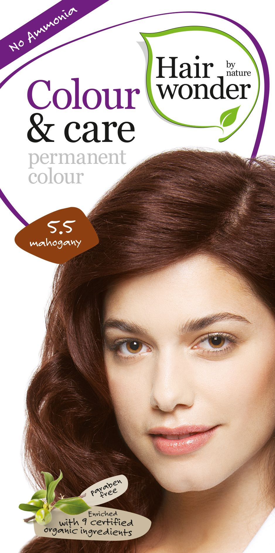 Hairwonder Colour & Care Mahogany 5.5