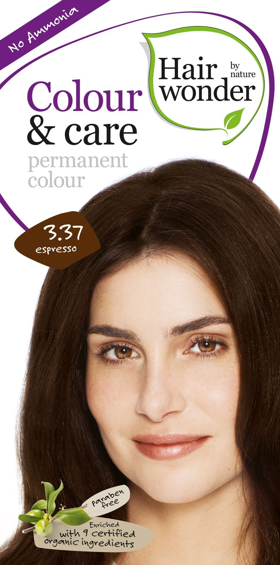 Hairwonder Colour & Care Espresso 3.37