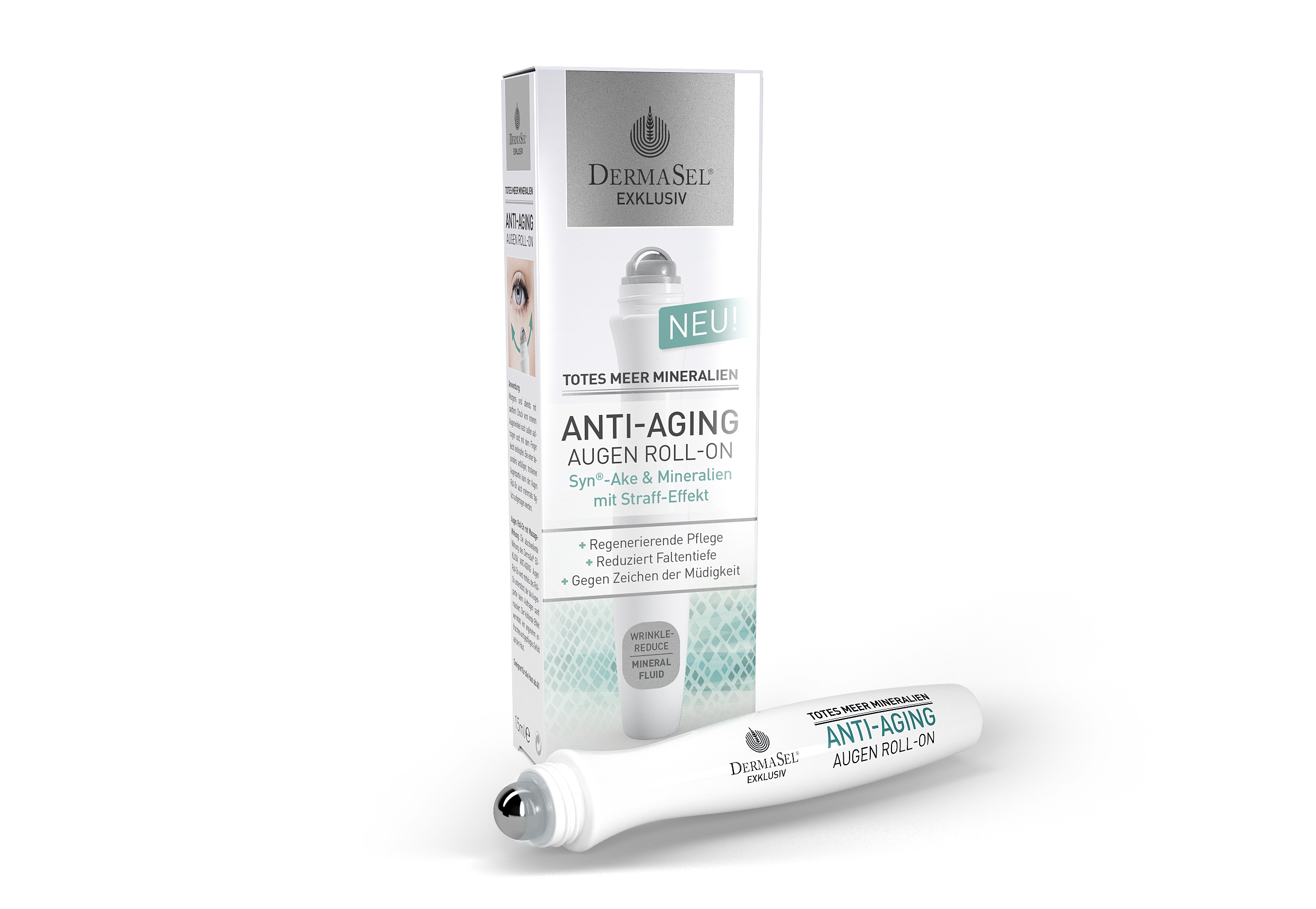 Dermasel Tratament contur ochi roll-on, antirid