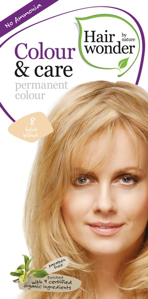 Hairwonder Colour & Care Light Blond 8