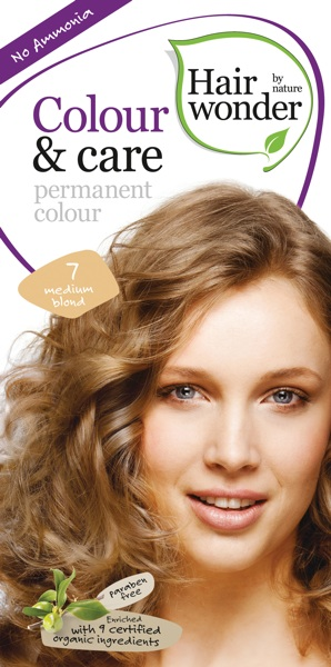 Hairwonder Colour & Care Medium Blond 7