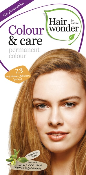 Hairwonder Colour & Care Medium Golden Blond 7.3