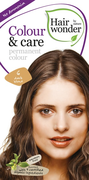 Hairwonder Colour & Care Dark Blond 6