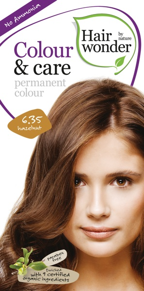 Hairwonder Colour & Care Hazelnut 6.35