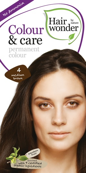 Hairwonder Colour & Care Medium Brown 4