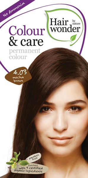 Hairwonder Colour & Care Mocha Brown 4.03