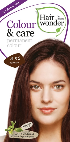 Hairwonder Colour & Care Auburn 4.56