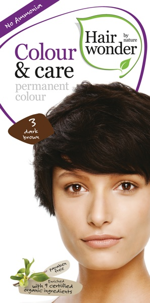Hairwonder Colour & Care Dark Brown 3